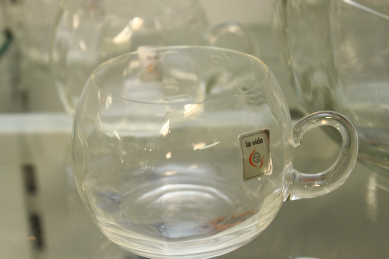 la vida bowleset glas bowle mit deckel sch pfkelle acryl und 6 gl ser neu ebay. Black Bedroom Furniture Sets. Home Design Ideas