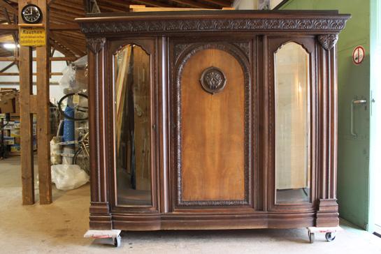 repr sentativer gr nderzeit wohnzimmer b cherschrank schrank 1900 arbeitszimmer ebay. Black Bedroom Furniture Sets. Home Design Ideas