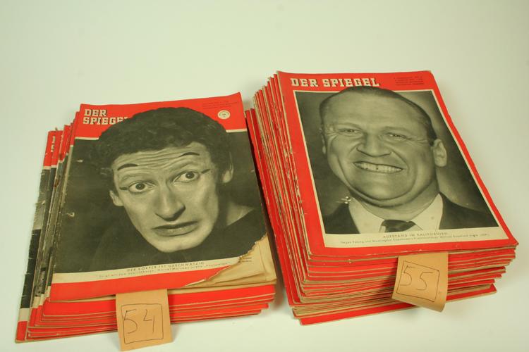 Der spiegel 38 orig hefte 1954 1955 nachrichten magazin ebay for Der spiegel zeitung
